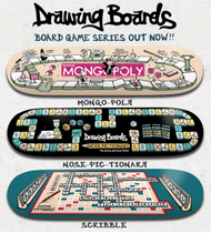 Drawing Boards Board Game Series