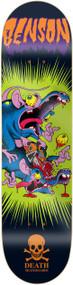"Death Skateboards Deck - Benson Psycho Rat 8.25"""