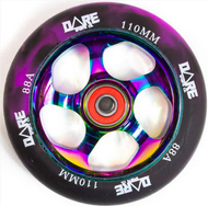 Dare Swift 110mm Wheels Purple / Neo Chrome