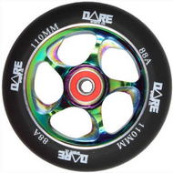 Dare Swift 110mm Wheels Black / Neo Chrome