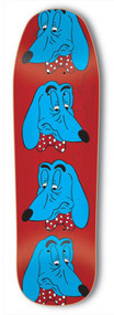 Tired / Parra Deck Sigar Dog Faces 9.25""