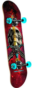 Powell Peralta Complete Cosmic Red Skull & Sword