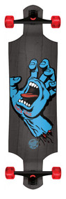 Santa Cruz Screaming Hand Drop Down Micro Longboard