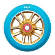 Crisp F1 Forged 110mm Wheel Blue / Gold