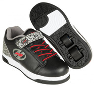 Heelys X2 - Dual Up - Black/Grey/Elephant