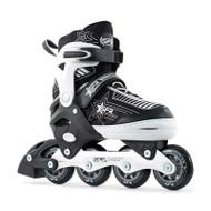 SFR Inline Skates - Pulsar Adjustable - Silver