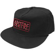 Spitfire x Deathwish Black Snapback Cap