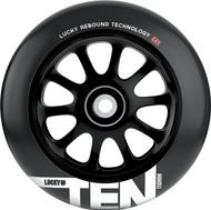 Lucky Ten 110mm Wheels - Black / Black