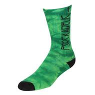 Psockadelic Socks - Zeppelin - Green / Yellow