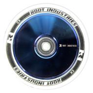 Root Industries - Air Wheel - Blue Chrome 120mm