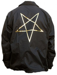 Thrasher Jacket Pentagram Coach - Black