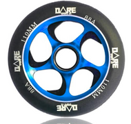 Dare Swift 110mm Wheels Black / Blue