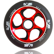 Dare Swift 110mm Wheels Black / Red