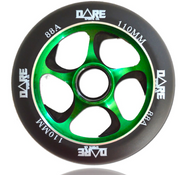 Dare Swift 110mm Wheels Black / Green