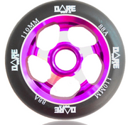 Dare Motion 110mm Scooter Wheel - Purple