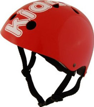 Kiddimoto Red Helmet - 53cm-58cm adjustable Helmet - Medium