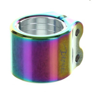 Drone Contrast Double Collar Clamp - Neo Chrome
