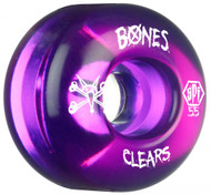 Bones Wheels - SPF Clears - Purple 55mm