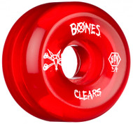 Bones Wheels - SPF Clears - Red 54mm