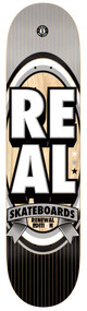Real PP Deck - Renewal Stacked LG -Grey/Black - 8.06  IN