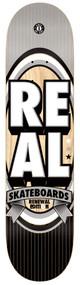 Real PP Deck - Renewal Stacked LG -Grey/Black - 8.06  IN