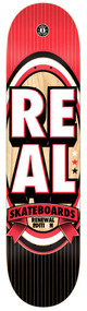 Real PP Deck	Renewal Stacked XLG - Red/Black - Green/Black - 8.25  IN