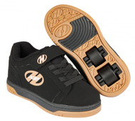 Heelys X2 - Dual Up - Black/Gum