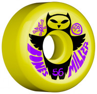 Bones Wheels	SPF Miller Owl - Yellow - 56mm