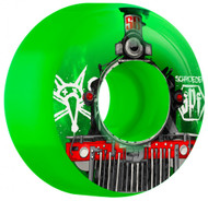 Bones Wheels	SPF Schroeder Train - Green - 60  MM