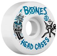 Bones WheelsSTF Head Cases V1 - White - 53mm