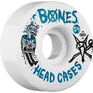 Bones Wheels	STF Head Cases V1 - White - 54mm