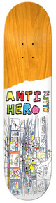 Anti Hero Deck - Porous Walker Art Allen - 8.4  IN