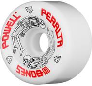Powell Peralta Wheels - G Bones #2 97A - White - 64  MM