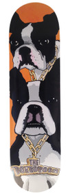 The Boardroom - Boston Terrier - Skateboard Deck
