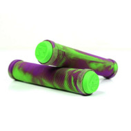 Root Industries - Mix Scooter Grips - Green / Purple