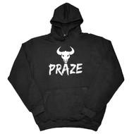 Praze - Bull Hoody - Black/White