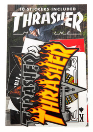 Thrasher Sticker Pack Assorted 10 Pack