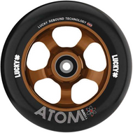Lucky Atom 110mm Wheels - Black / Copper