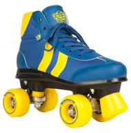 Rookie Rollerskates Retro V2 - Light Blue/Yellow