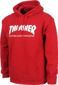 Thrasher Skate Mag Hoody - Antique Cherry Red