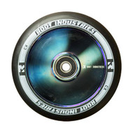 Root Industries 120mm Air Wheels - Pair -  Black on Blue Ray