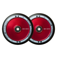 Root Industries 110mm Air Wheels - Pair - Black on Red
