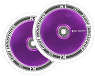 Root Industries 110mm Air Wheels - Pair - White on Purple