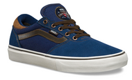 Vans Gilbert Crockett Pro Shoes - Midnight Navy / Brown