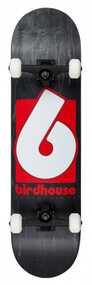 Birdhouse Complete Stage 3 - B Logo - Black/Red - 8  IN