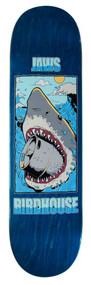 Birdhouse Pro Deck - Thirsty Jaws - Blue - 8  IN
