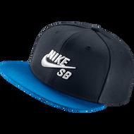 Nike SB Snapback Hat - Black / Blue