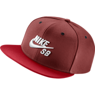 Nike SB Snapback Hat - Red / White