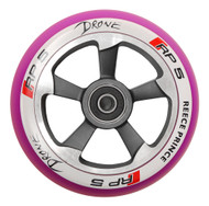Drone RP5 110mm Wheel - Chrome / Purple