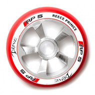 Drone RP5 110mm Wheel - Chrome / Red